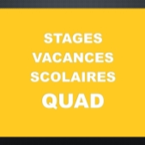 STAGE VACANCES SCOLAIRES